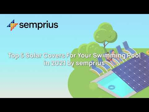 Top 5 Solar Pool Covers In 2021