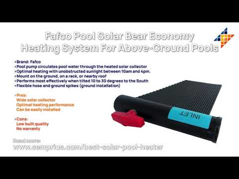 The Best Solar Pool Heaters In 2021