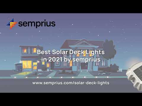 The Best Solar Deck Lights In 2021