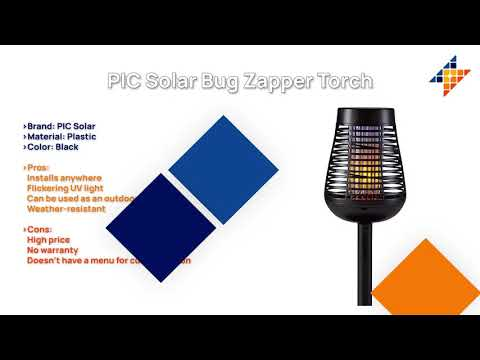 Top 5 Solar Powered Bug Zappers In 2021